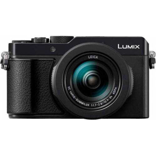 Panasonic Lumix Panasonic »DC-LX100M2EG« Kompaktkamera (Leica Objektiv DC-Vario-Summilux 1,7-2,8/ 24-75mm, 17 MP, 3x opt. Zoom, WLAN (Wi-Fi), Bluetooth)