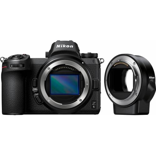 Nikon »Kit Z 6 FTZ« Systemkamera (24,5 MP, Bluetooth, WLAN (Wi-Fi)