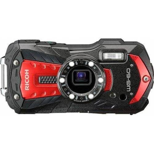 Ricoh »WG-60« Outdoor-Kamera (16 MP, WLAN (Wi-Fi), rot