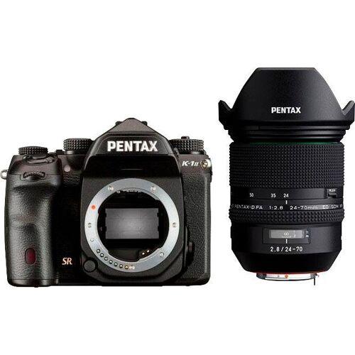 Pentax Premium »K-1 II« Spiegelreflexkamera (HD PENTAX-D FA 24-70mm F2.8 ED SDM WR, 36,4 MP, WLAN (Wi-Fi), inkl. D-FA 24-70)