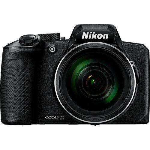 Nikon »Coolpix B600« Superzoom-Kamera (NIKKOR-Objektiv mit optischem 60-fach-Zoom, 16 MP, 60x opt. Zoom, Bluetooth, WLAN (Wi-Fi), schwarz