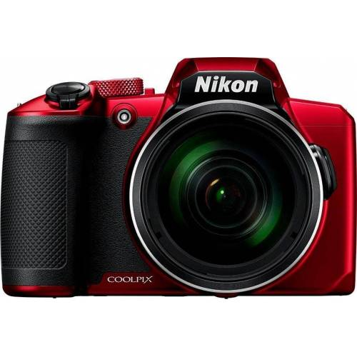 Nikon »Coolpix B600« Superzoom-Kamera (NIKKOR-Objektiv mit optischem 60-fach-Zoom, 16 MP, 60x opt. Zoom, Bluetooth, WLAN (Wi-Fi), rot