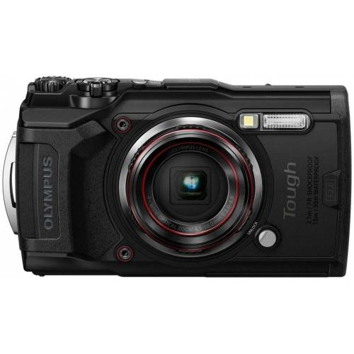 Olympus »Tough TG-6« Outdoor-Kamera (12 MP, 4x opt. Zoom, WLAN (Wi-Fi), schwarz