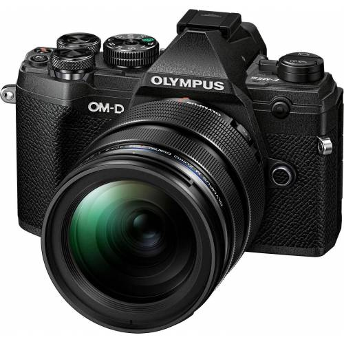 Olympus »OM-D E-M5 Mark III« Systemkamera (M.Zuiko Digital ED 12-40mm F2.8 PRO, 20,4 MP, Bluetooth, NFC), schwarz