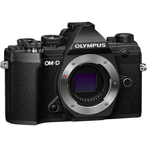 Olympus »OM-D E-M5 Mark III Body« Systemkamera (20,4 MP, Bluetooth, WLAN (Wi-Fi), schwarz