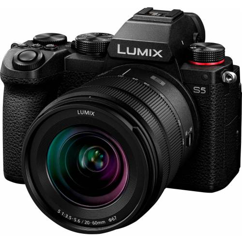 Panasonic Lumix Panasonic »DC-S5KE-K inkl. 20–60 mm« Systemkamera (24,2 MP, WLAN (Wi-Fi), Bluetooth)