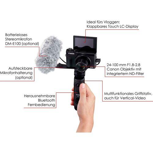 Canon »PowerShot G7 X Mark III« Kompaktkamera (8,8 – 36,8mm (quivalent zu KB-Vollformat: 24 – 100mm), 20,1 MP, 4,2x opt. Zoom, WLAN (WiFi)