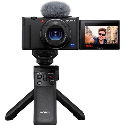 Sony »Vlog-Kamera ZV-1« Kompaktkamera (20,1 MP, Bluetooth, WLAN (WiFi), Selfie Stick GPVPT2BT.SYU)