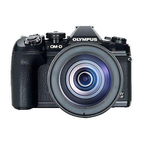 Olympus »E-M1 Mark III 12-100mm Kit blk/blk« Spiegelreflexkamera (21,8 MP, WLAN (WiFi), Bluetooth)