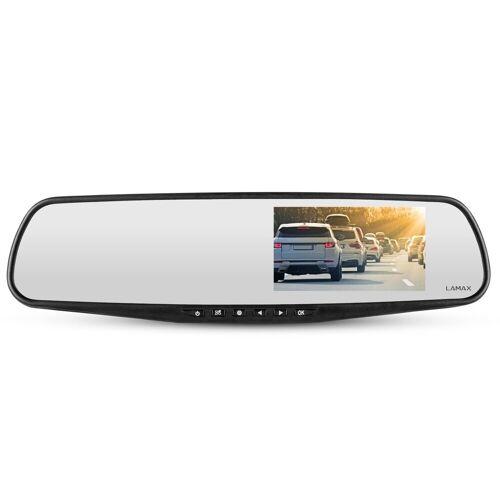 LAMAX »S7 Dual Full HD Spiegel« Dashcam (für den Rückspiegel mit Rückkamera)
