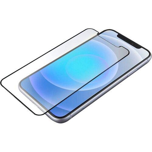 4smarts »Hybrid Glass End. Crystal-Clear iPhone 12 mini« für Apple iPhone 12 mini, Displayschutzfolie, Präzise Ausschnitte (Frontkamera oder Tasten weiter nutzbar), Abgerundete Kanten für angenehme Haptik, Kristallklares Glas zeigt die brillante Farbvielfalt, Keine Einschränkung der Berührungssensitivität, Einfaches reinigen, Schnelles, blasenfreies Anbringen mithilfe des cleveren Montagewerkzeugs