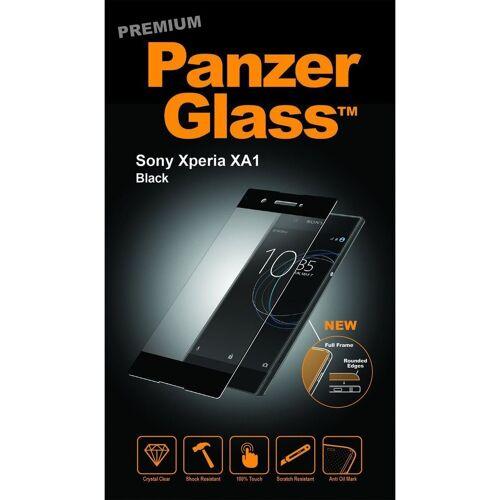 PanzerGlass Folie »Sony Xperia XA1, Clear«, Schwarz