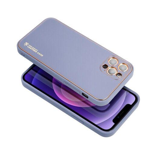 cofi1453 Handyhülle »Leder Case Hülle Handyschale Handy-Hülle« iPhone Xs, Leder Case Hülle Handyschale Handy-Hülle Cover Bumper, blau