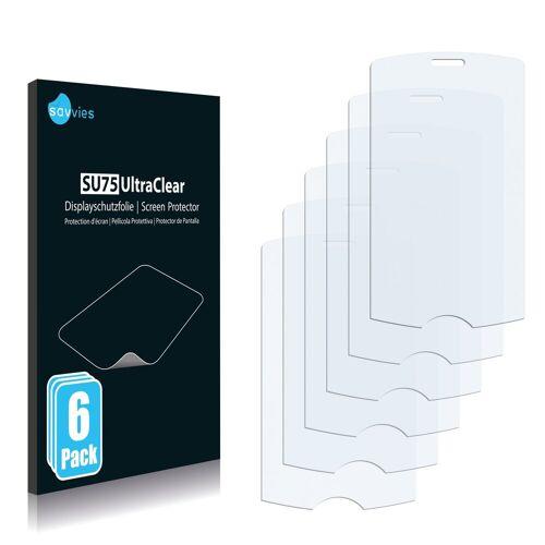 Savvies Schutzfolie »für Acer beTouch E100«, (6 Stück), Folie Schutzfolie klar