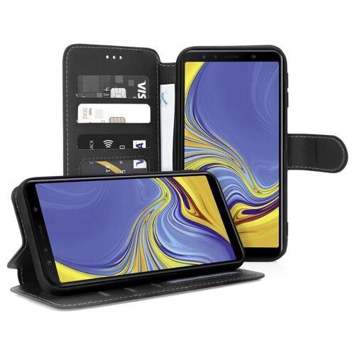 MyGadget Handyhülle »Hülle Flip Case Für Samsung Galaxy A7 (2018) Handy«