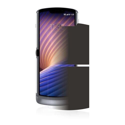 upscreen Schutzfolie »für Motorola Razr 5G 2020«, Folie Schutzfolie Sichtschutz klar anti-spy