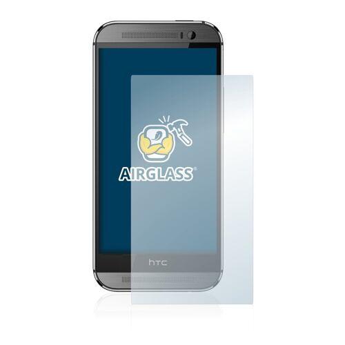 BROTECT Schutzfolie »Panzerglasfolie für HTC One M8«, Schutzglas Glasfolie klar