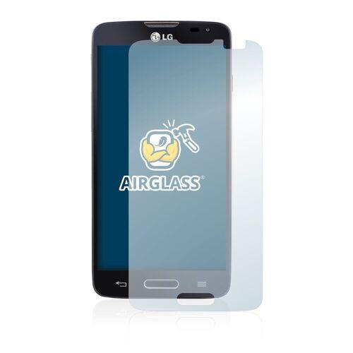 BROTECT Schutzfolie »Panzerglasfolie für LG L90 D405 (One Sim)«, Schutzglas Glasfolie klar