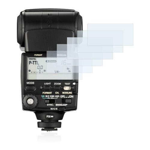 Savvies Schutzfolie »für Pentax AF-540 FGZ«, (6 Stück), Folie Schutzfolie klar