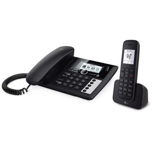 Telekom »Sinus PA 207 Plus 1 Festnetztelefon sw« Festnetztelefon