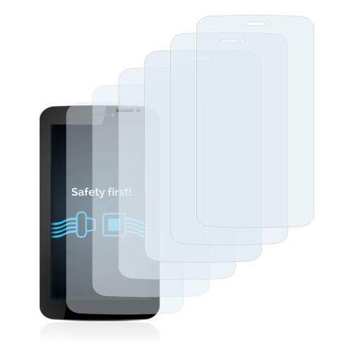 Savvies Schutzfolie »für Allview AX5 Nano Q«, (6 Stück), Folie Schutzfolie klar