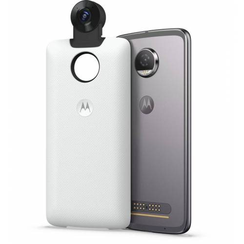 Motorola Mod »360 Grad Kamera Cover für Moto Z Serie«, Weiß