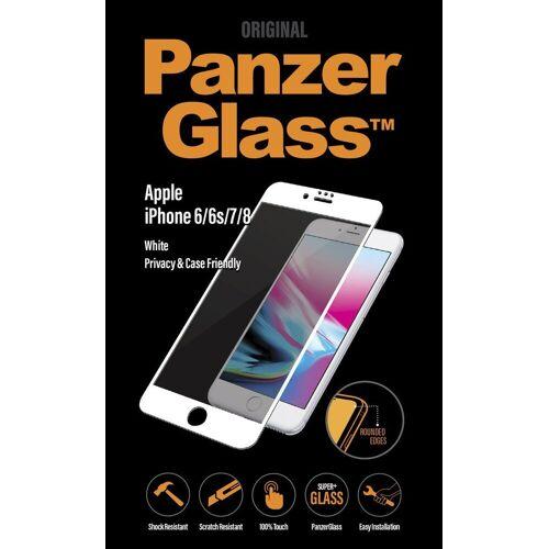 PanzerGlass Folie »2,5D PRIVACY für Apple iPhone 6/6s/7/8«, Weiß