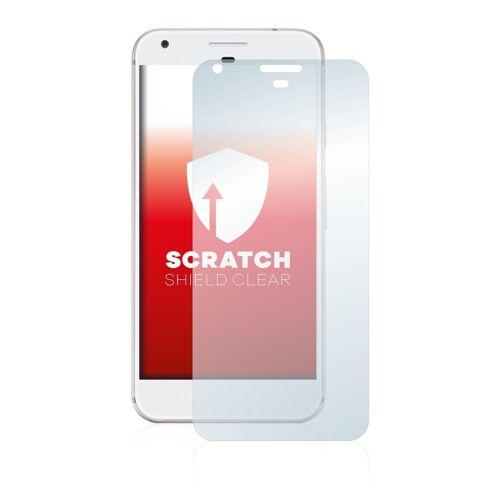 upscreen Schutzfolie »für Google Pixel XL«, Folie Schutzfolie klar anti-scratch