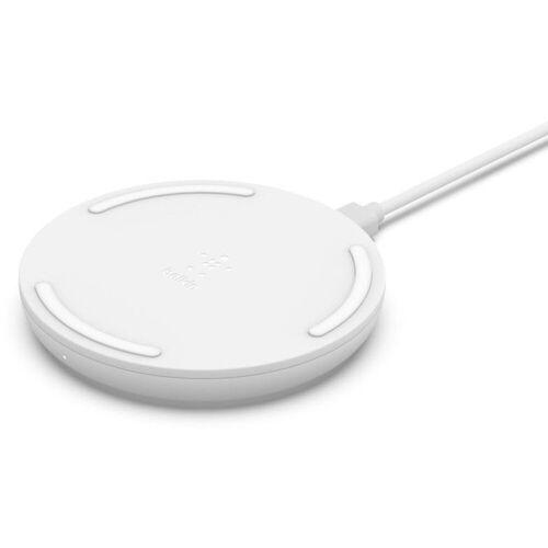 Belkin »Wireless Charging Pad mit USB-C Kabel & NT« Wireless Charger, weiß