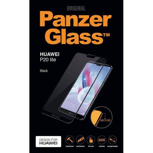 PanzerGlass Schutzglas »für Huawei P20 Lite«, Schwarz-Transparent