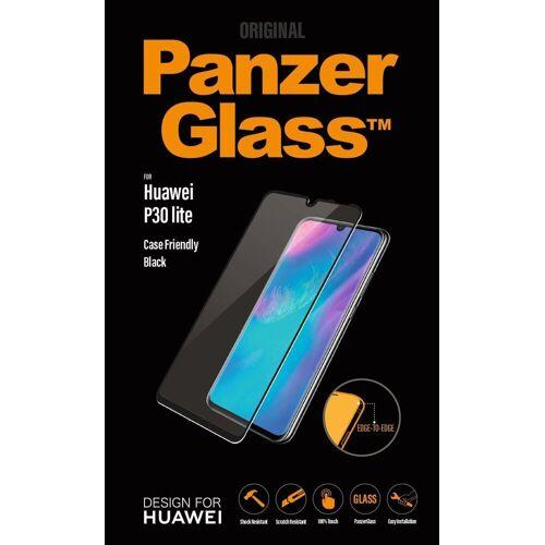 PanzerGlass Schutzglas »Huawei P30 Lite«, Schwarz-Transparent
