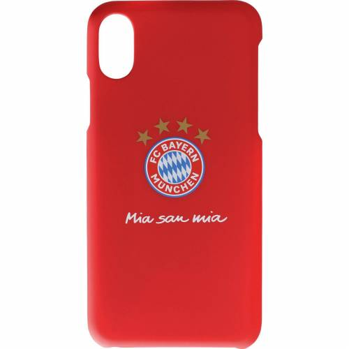 FC Bayern Handycover Logo iPhone X, rot