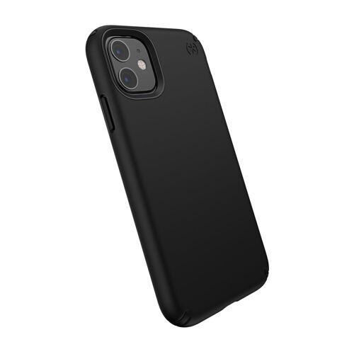 Speck HardCase »PRESIDIO Pro iPhone (11) Black/Black«, schwarz