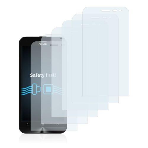 Savvies Schutzfolie »für Asus ZenFone 2 Laser ZE500KL«, (6 Stück), Folie Schutzfolie klar