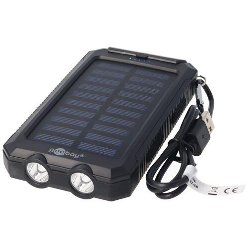 Goobay »Outdoor Powerbank 8000mAh mit Solarpanel und Tasch« Powerbank