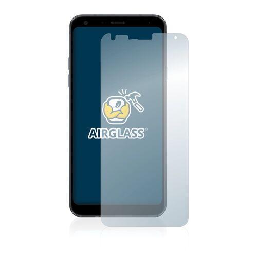 BROTECT Schutzfolie »Panzerglasfolie für LG Q7«, Schutzglas Glasfolie klar