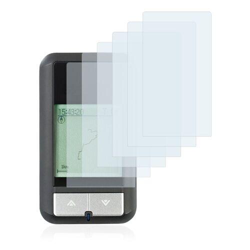 Savvies Schutzfolie »für NavGear OC-500«, (6 Stück), Folie Schutzfolie klar