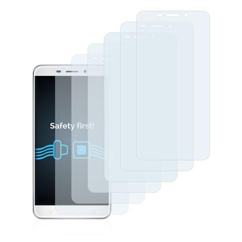 Savvies Schutzfolie »für Asus ZenFone 3 Laser ZC551KL«, (6 Stück), Folie Schutzfolie klar