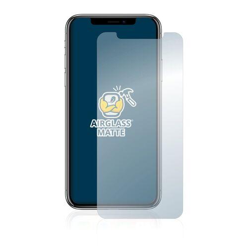 BROTECT Schutzfolie »Panzerglasfolie für Apple iPhone X«, Schutzglas Glasfolie matt