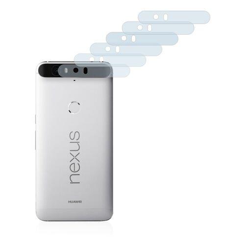 Savvies Schutzfolie »für Google Nexus 6P (nur Kamera)«, (6 Stück), Folie Schutzfolie klar