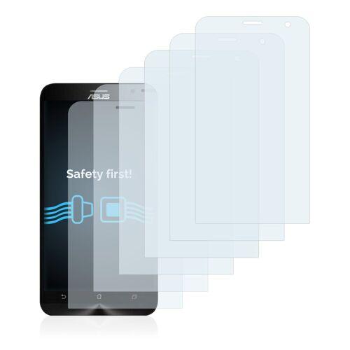 Savvies Schutzfolie »für Asus ZenFone 2 Laser ZE600KL«, (6 Stück), Folie Schutzfolie klar