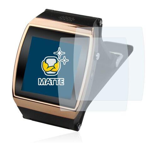BROTECT Schutzfolie »für Flylinktech New L15 Hi Watch«, (2 Stück), Folie Schutzfolie matt entspiegelt