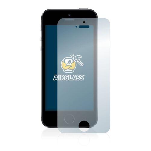 BROTECT Schutzfolie »Panzerglasfolie für Apple iPhone 5S«, Schutzglas Glasfolie klar
