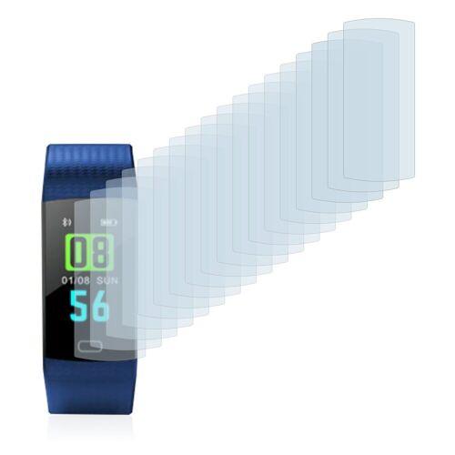 Savvies Schutzfolie »für Goral Y5 Smart (0.96)«, (18 Stück), Folie Schutzfolie klar
