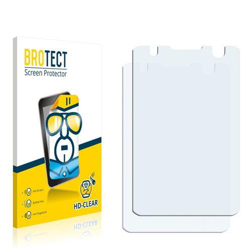 BROTECT Schutzfolie »für Nokia 6700 slide«, (2 Stück), Folie Schutzfolie klar