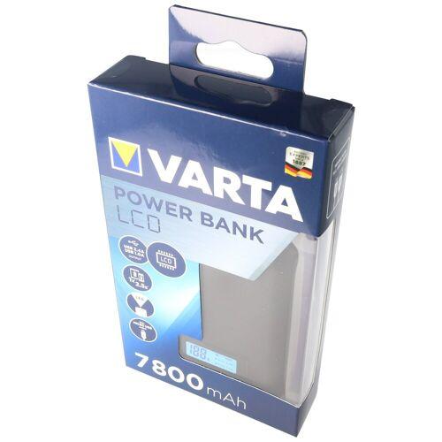 Varta »Powerbank LCD 7800mAh Ladestrom max. 2,4A mi« Powerbank