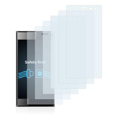 Savvies Schutzfolie »für Archos 45c Platinum«, (6 Stück), Folie Schutzfolie klar