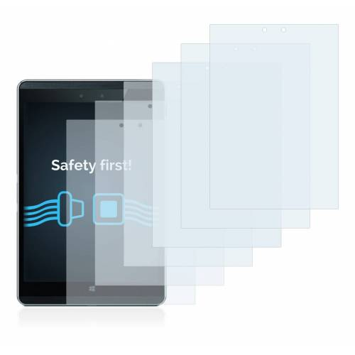 Savvies Schutzfolie »für HP Pro Tablet 608 G1«, (6 Stück), Folie Schutzfolie klar