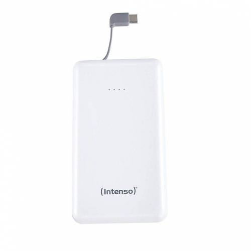 Intenso »Powerbank Slim S10000-C Type C Kabel weiß« Powerbank