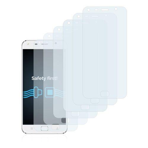 Savvies Schutzfolie »für UMi Touch X (5.5)«, (6 Stück), Folie Schutzfolie klar